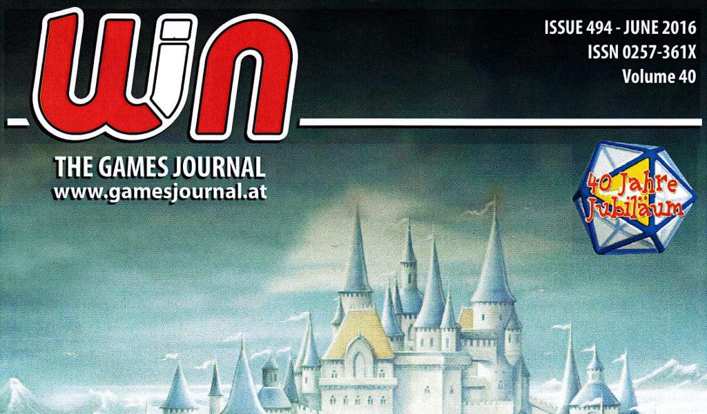 BigCream: WIN – THE GAME JOURNAL n° 494