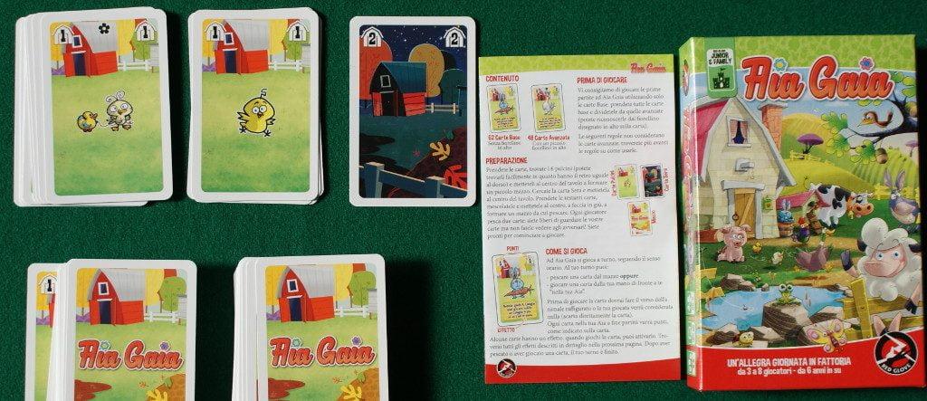 Aia Gaia 2: il contenuto rivela un card game non certo per bimbi piccoli (da 8 anni in su)