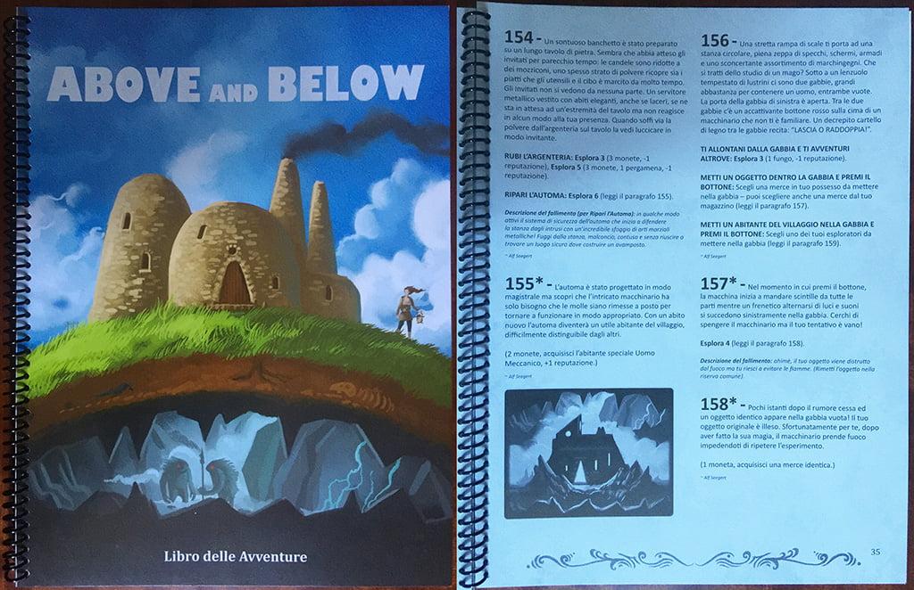 """Il """"famigerato"""" libro delle avventure: la spirale vi ricorda qualcosa?"""