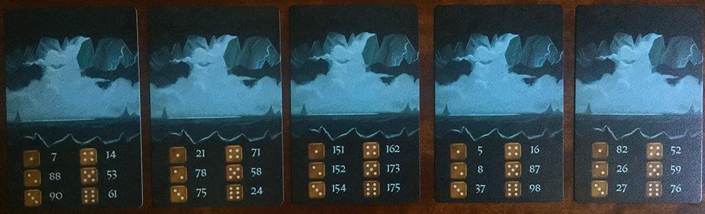 Le cupe carte caverna: