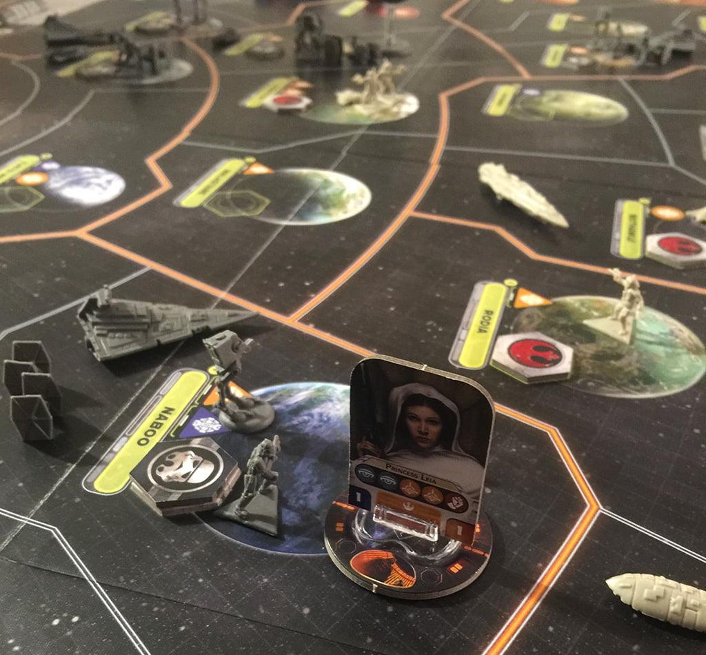 La principessa Leia è stata assegnata a una missione di sabotaggio
