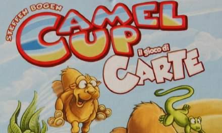 Camel Up il gioco di carte