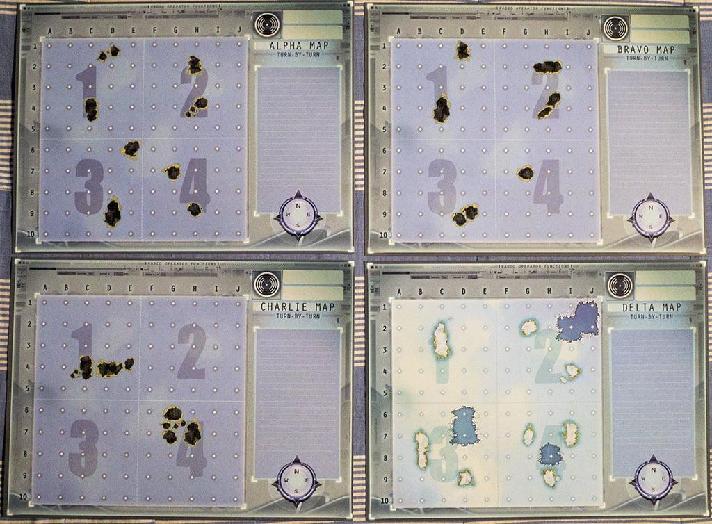 I primi 4 scenari inclusi nel gioco.