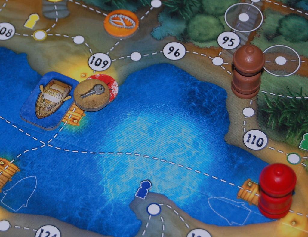 Il laghetto: punto focale del gioco