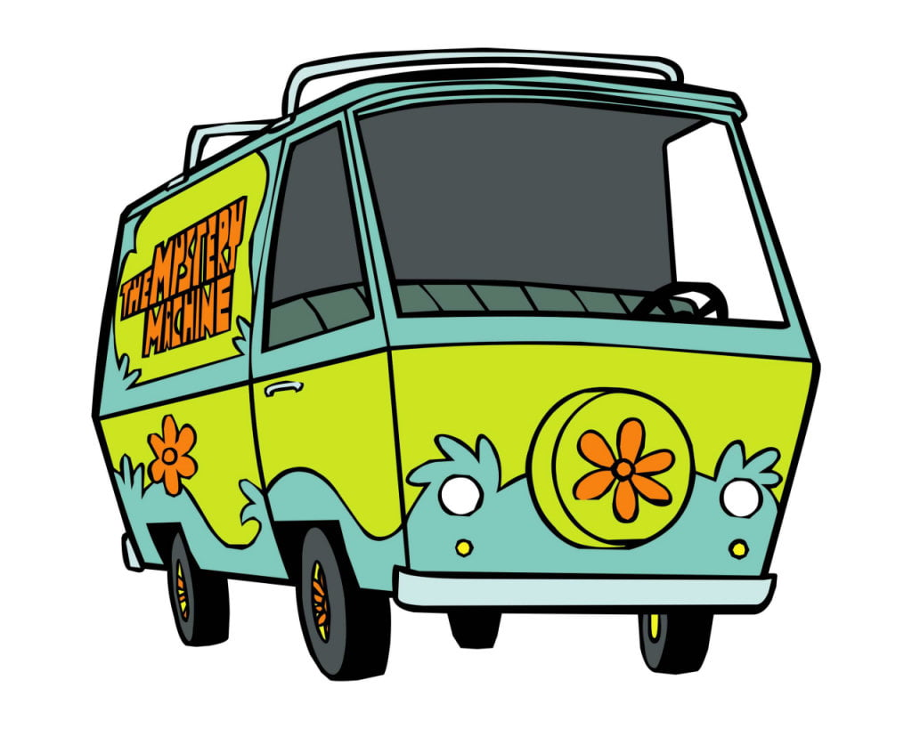 Mistery Machine di Scooby Doo