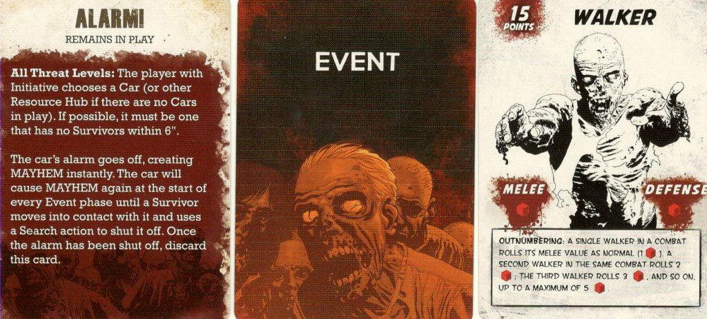 Esempi di carte evento