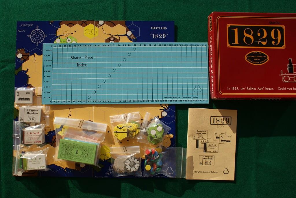 1829 SUD : il gioco che ha dato vita all'intera serie