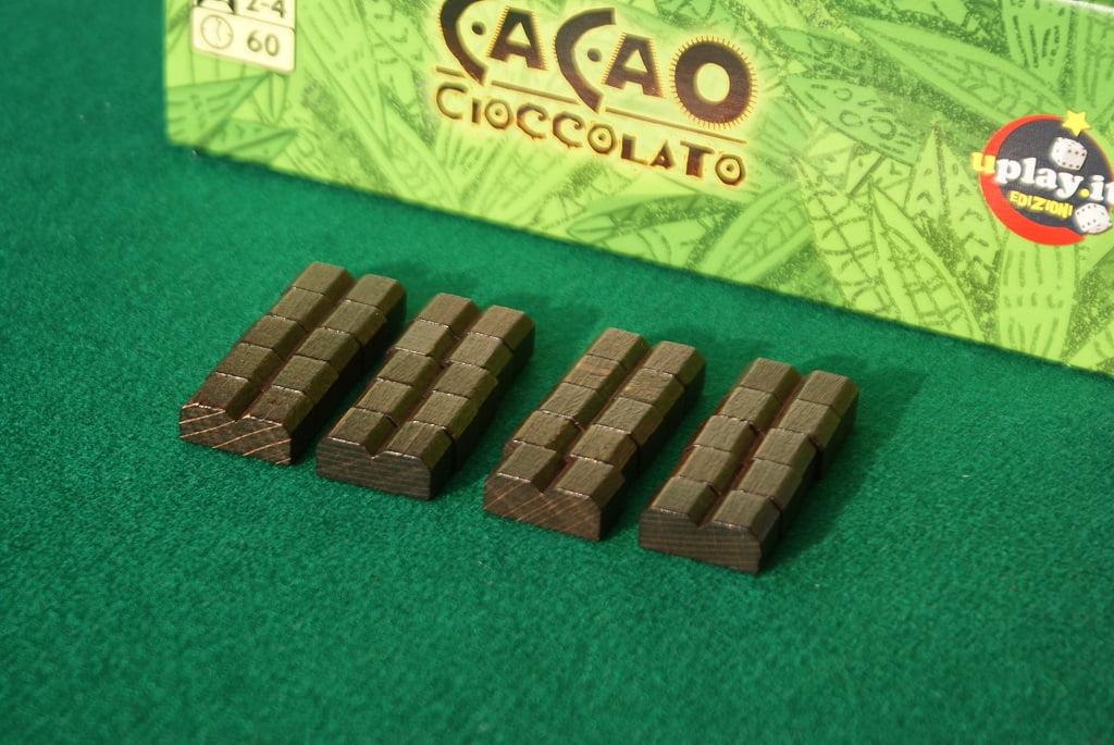 Le barrette di cioccolato