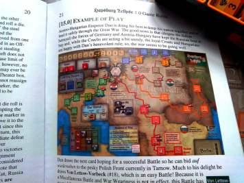 Esempio di gioco sul Manuale.