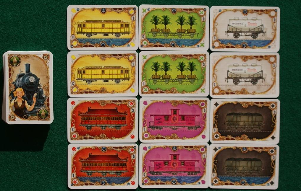 """Un esempio di carte """"vagone"""""""