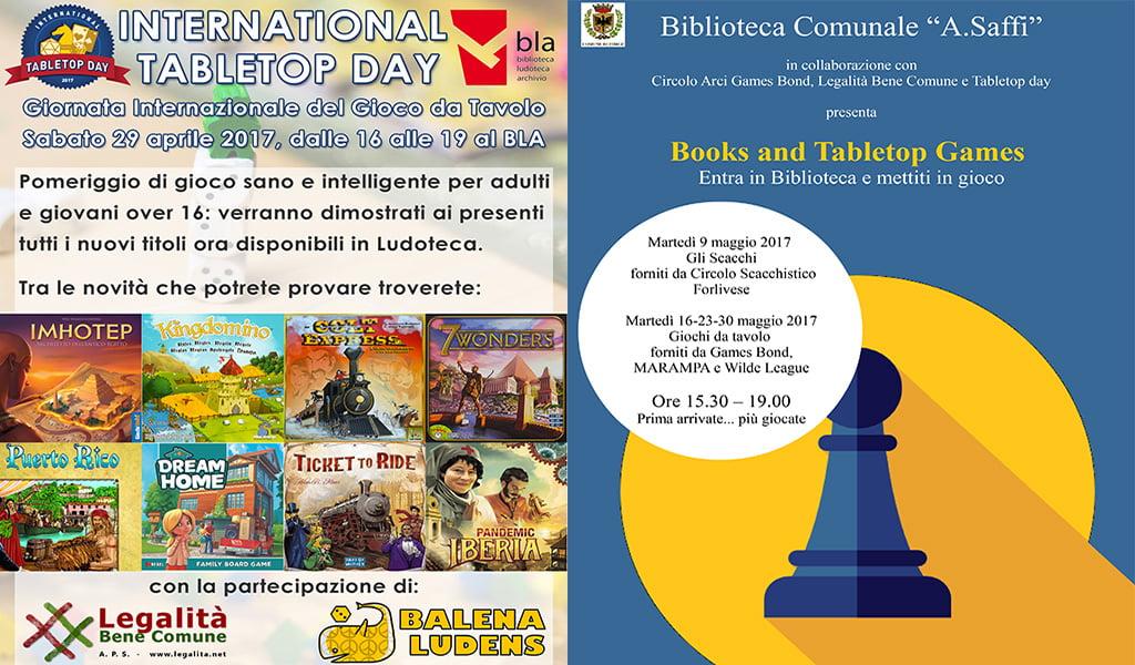 International TableTop Day – 29 aprile 2017