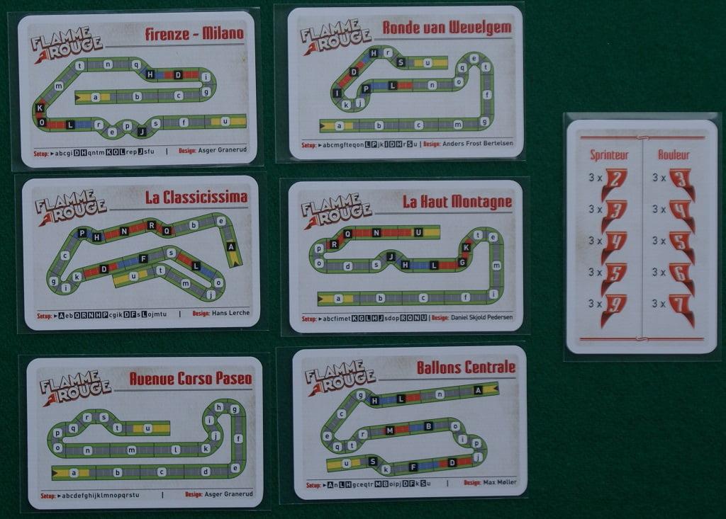 Le carte percorso