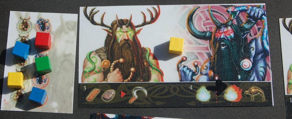 carta divinità e carta tempio