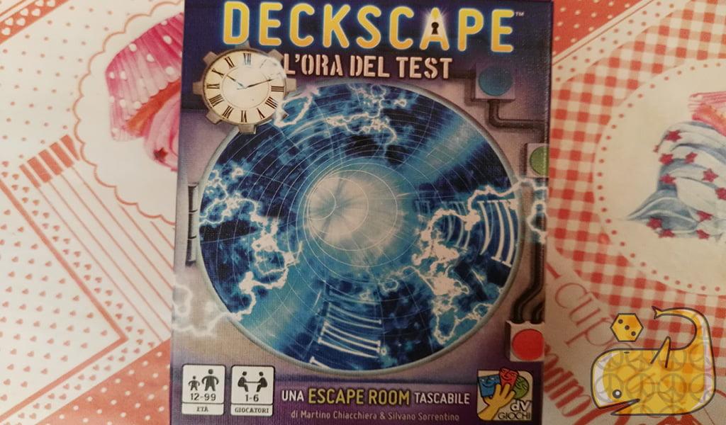 Videotutorial: Deckscape - L'Ora del Test