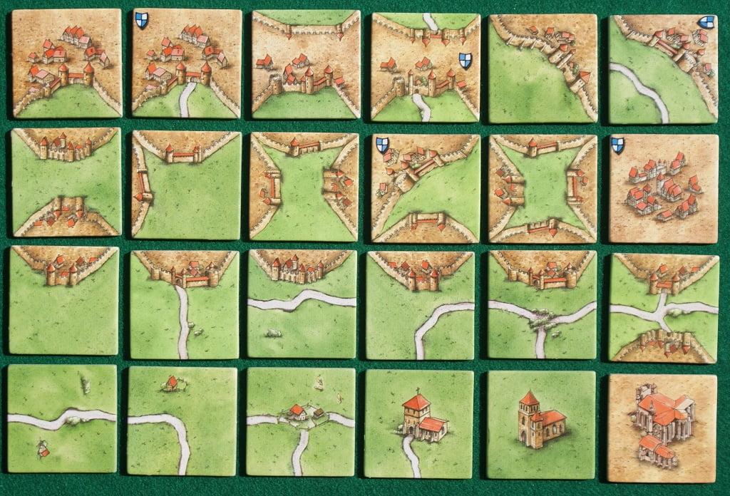 Le Tessere di Carcassonne