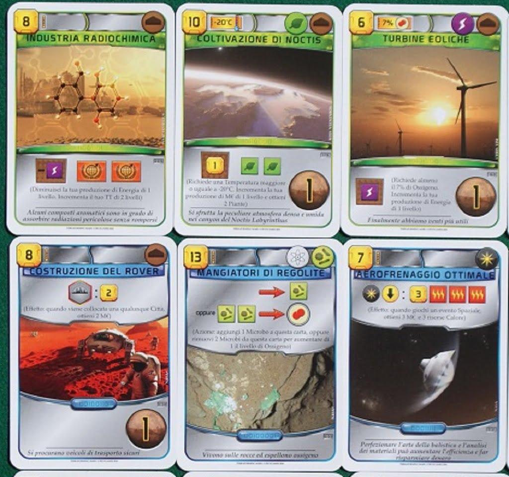 Esempi di carte