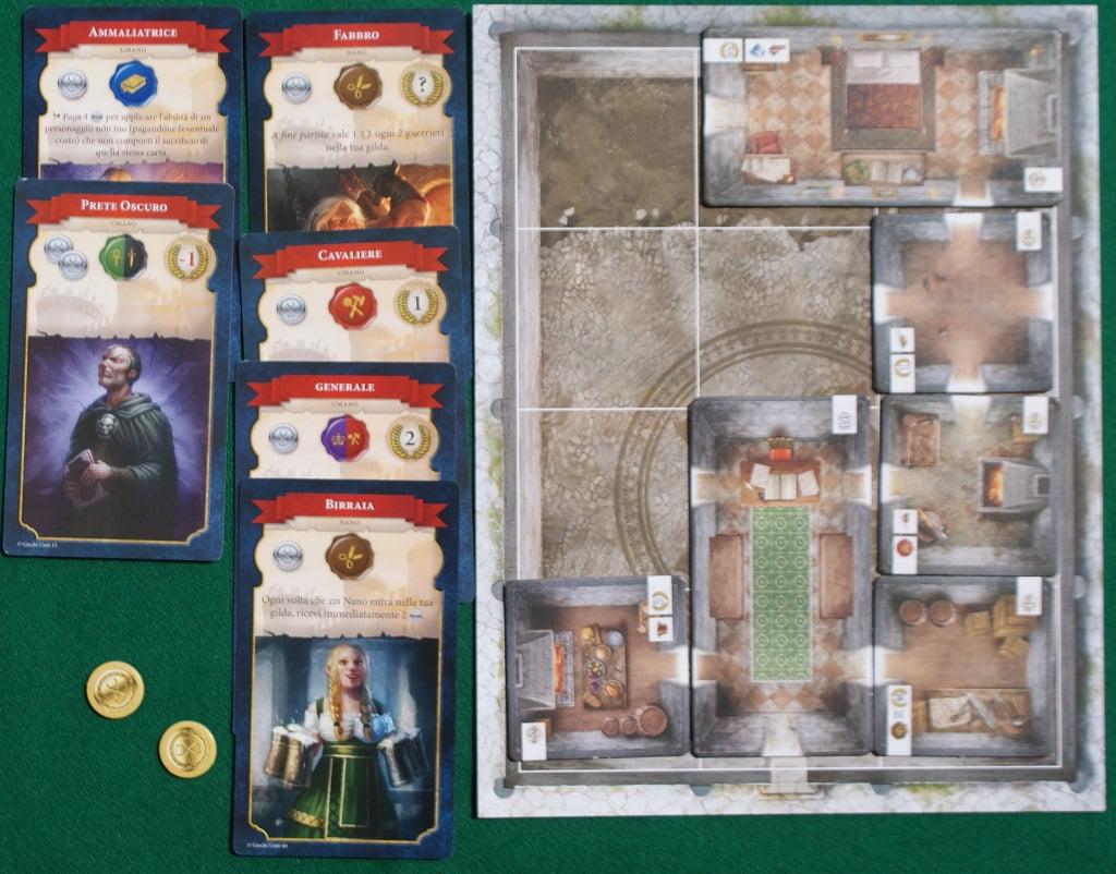 Plancia Abitazione durante la partita