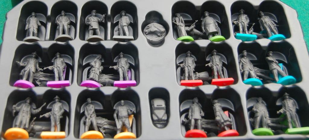 Miniature e stivaggio