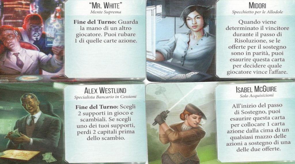 Le carte supporto