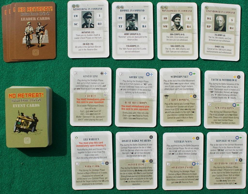 Le carte del gioco