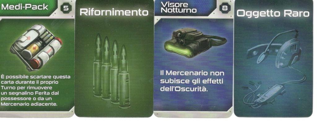 Carte equipaggiamento