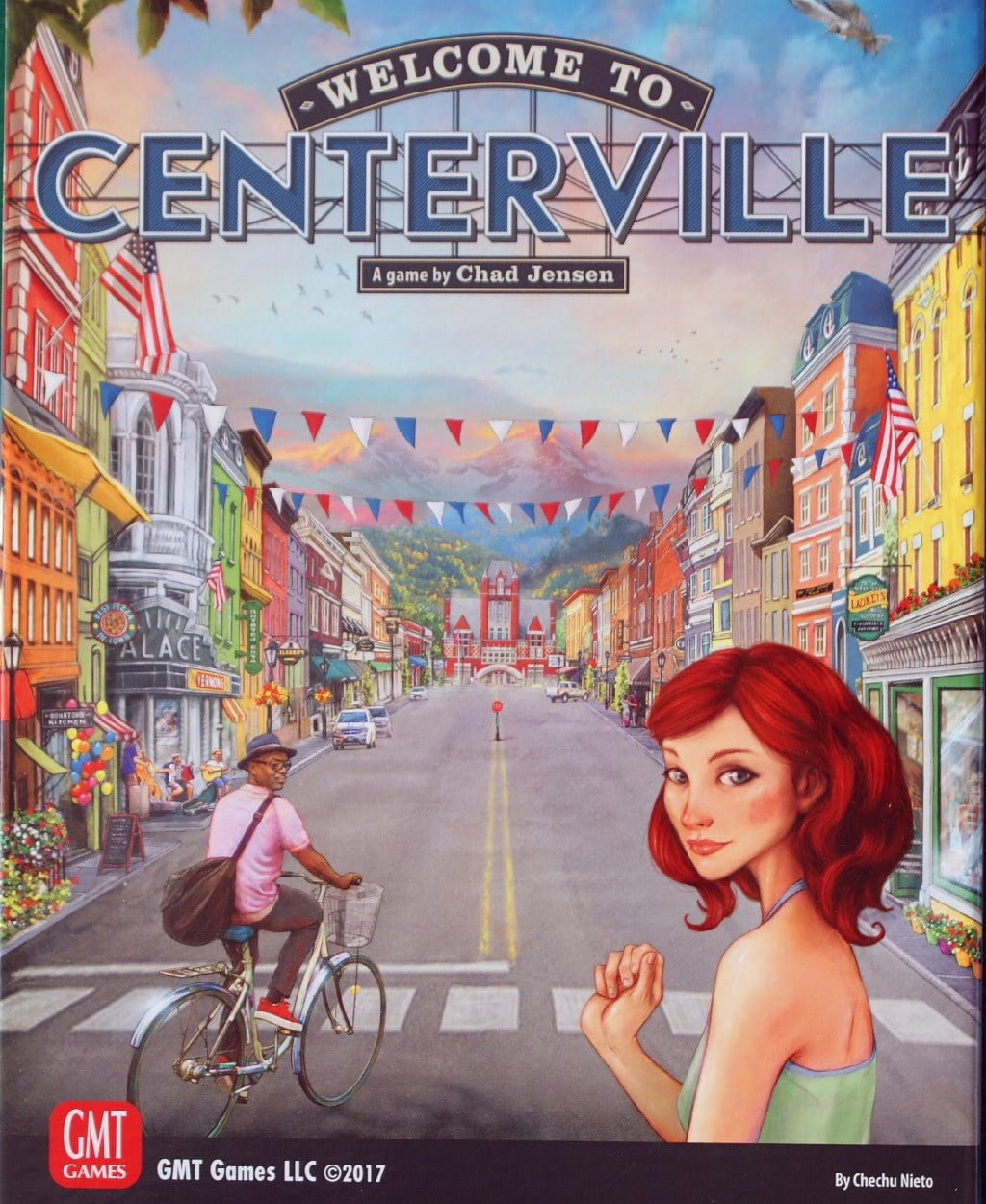 La scatola di Welcome to Centerville