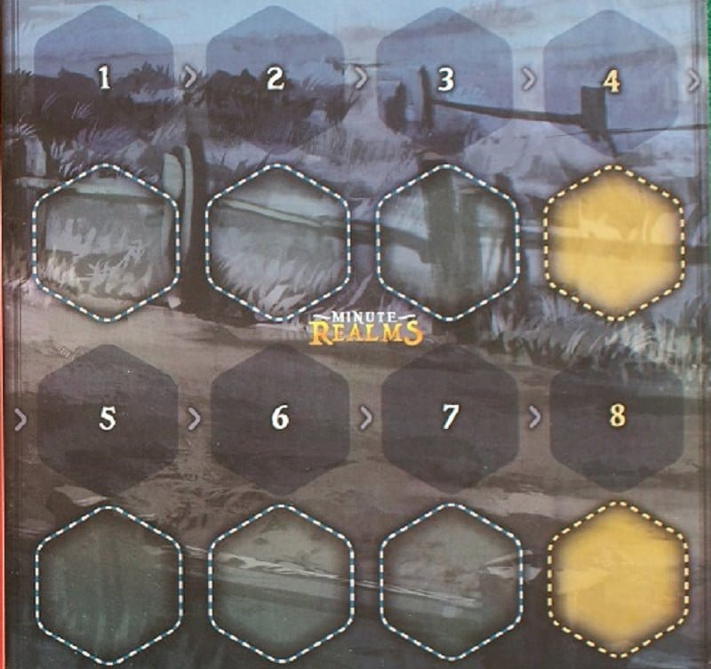 Il tabellone con la sequenza dei turni