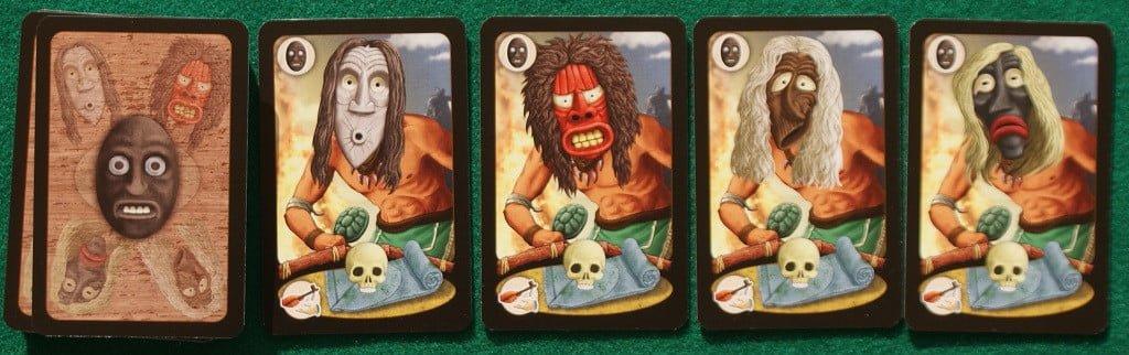 "Le carte ""maschera"""
