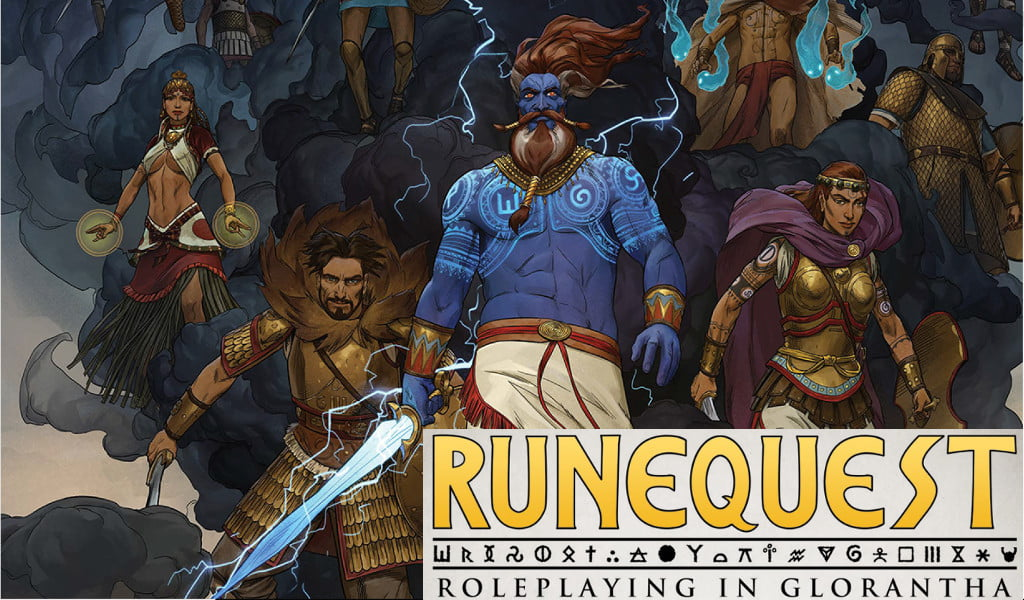 RuneQuest Roleplaying in Glorantha 4th Edition