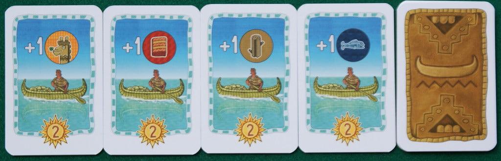 """Le carte """"Canoa"""""""