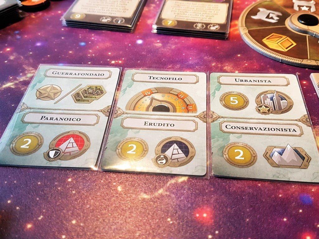 Gli obiettivi da raggiungere per determinare la fine della partita.