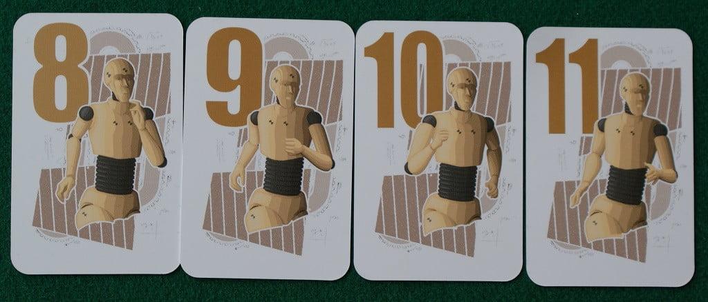 """Le carte movimento per gli atleti """"Robot"""""""