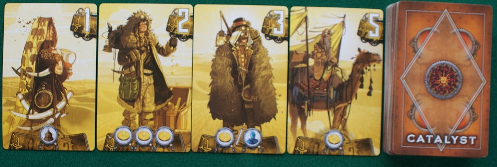 Le carte Catalyst gialle