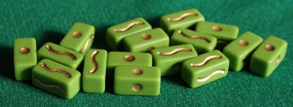 I bastoncini del fato verdi
