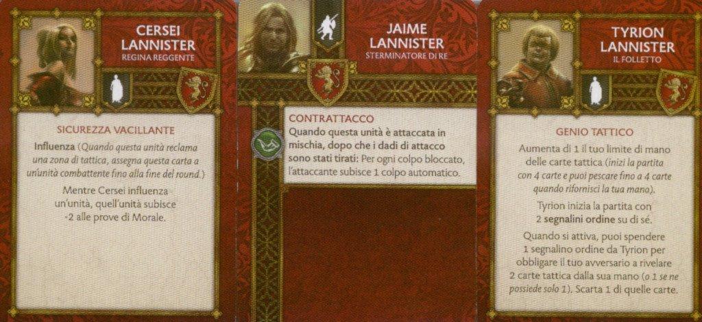 Personaggi di Casa Lannister