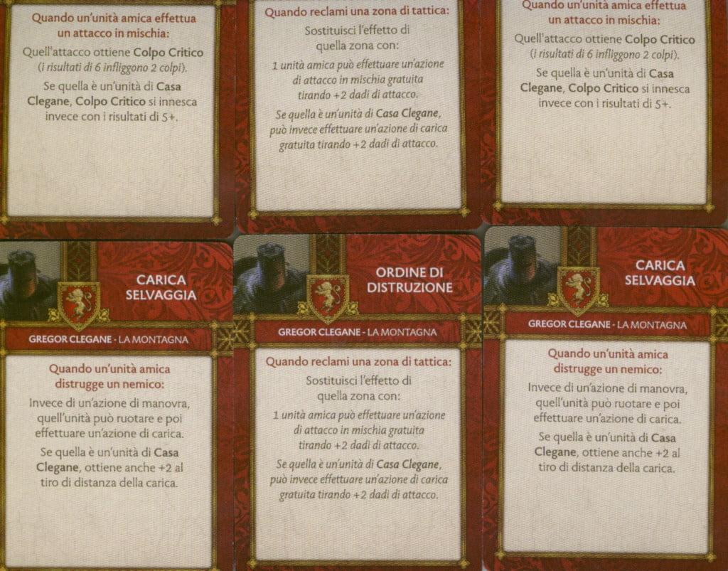 Carte tattiche
