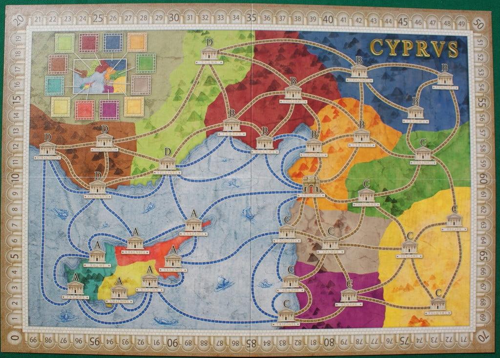 "La mappa ""Cyprus"""