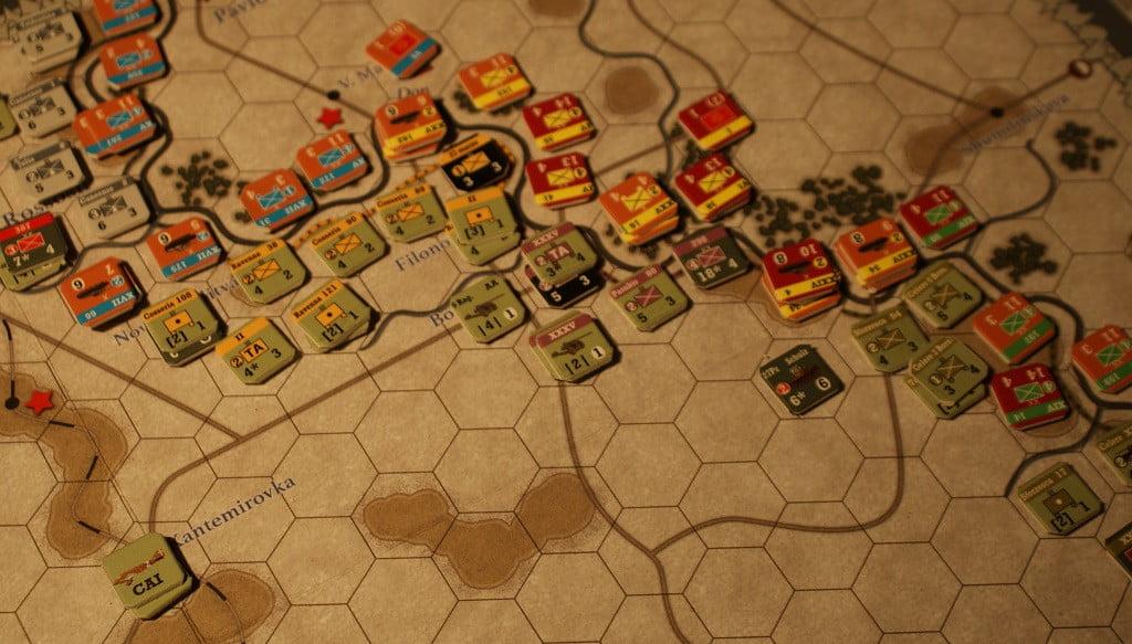 La pressione sovietica sul centro