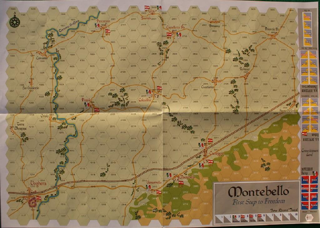 La mappa di Montebello