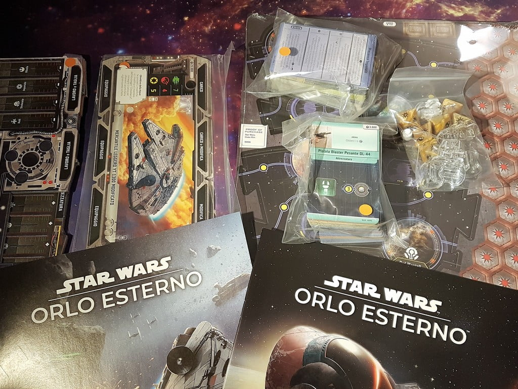 Unboxing Star Wars Orlo Esterno