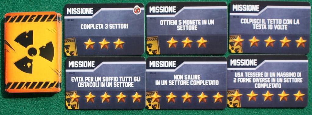 "Alcune carte ""missione"""