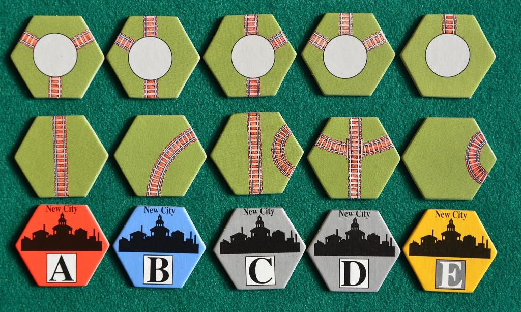 Le diverse tessere binario