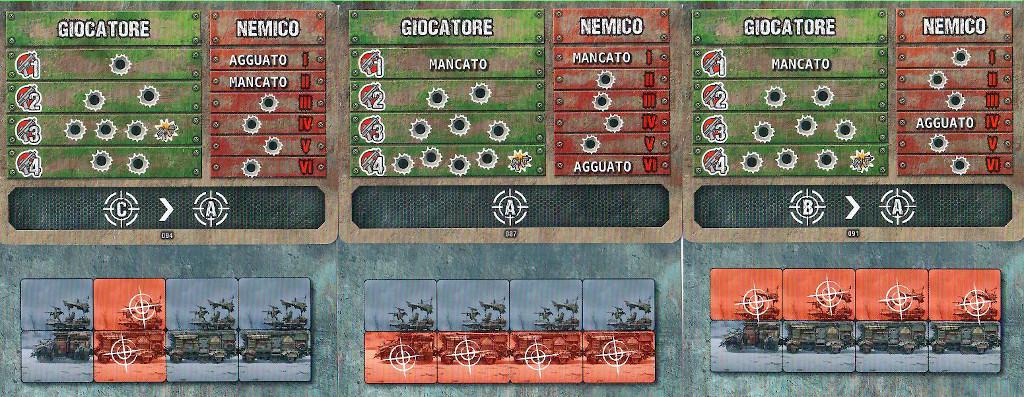 Le carte combattimento
