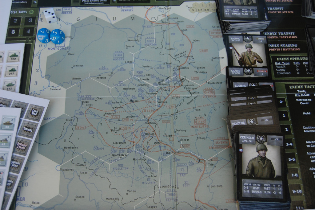 la mappa di gioco di Sherman Leader