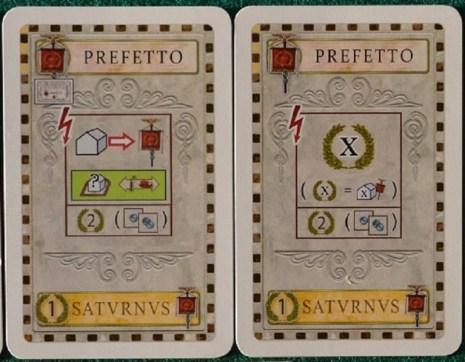 Le nuove carte Prefetto.