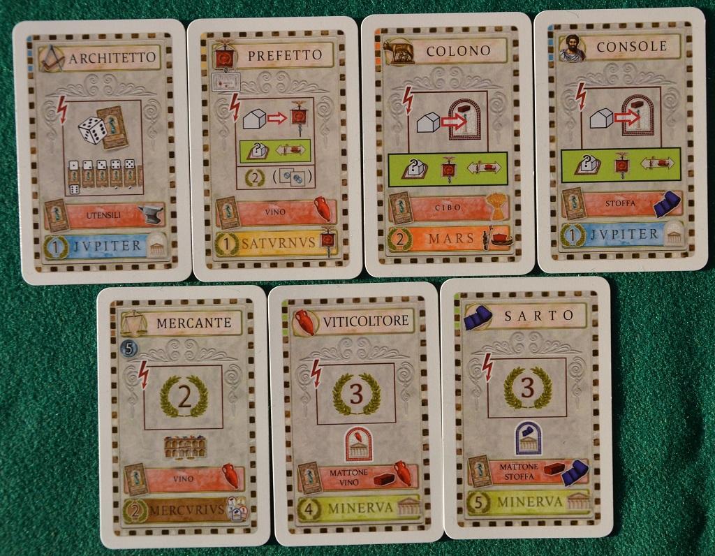 Le carte della Fase II.