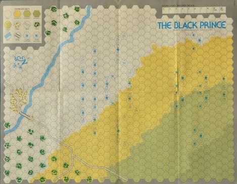 La mappa di Black Prince.