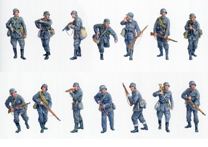 Soldati tedeschi.