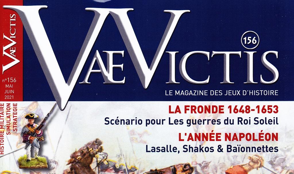 Riviste Wargames: VAE VICTIS n° 156