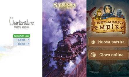 Acram Digital – Charterstone, Steam e Otto Minuti per un Impero